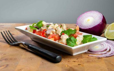 Ceviche med torsk